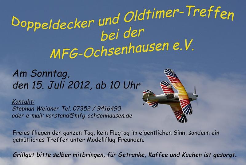 Oldtimer und Doppeldeckertreffen MFG-Ochsenhausen 2012
