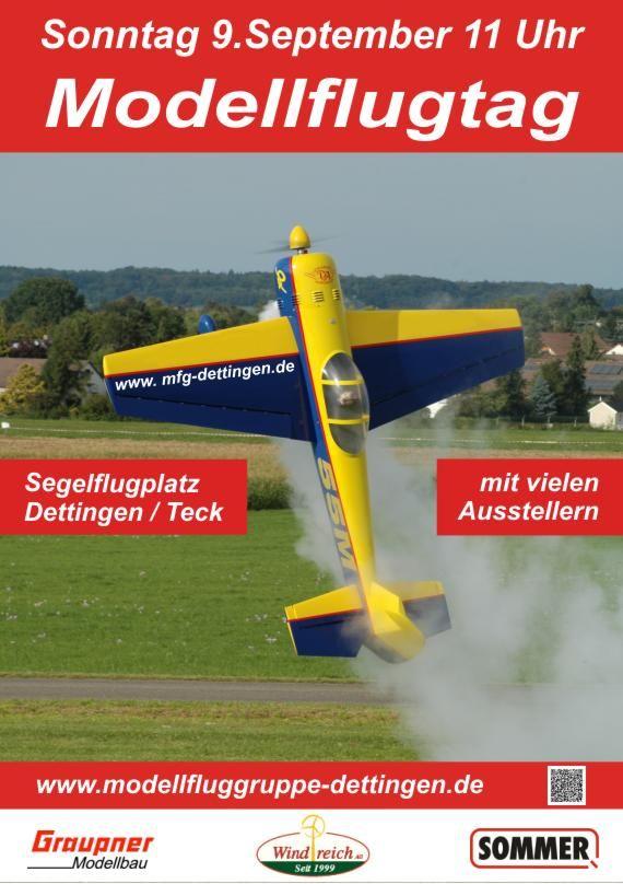Modellflugtag der Modellfluggruppe Dettingen