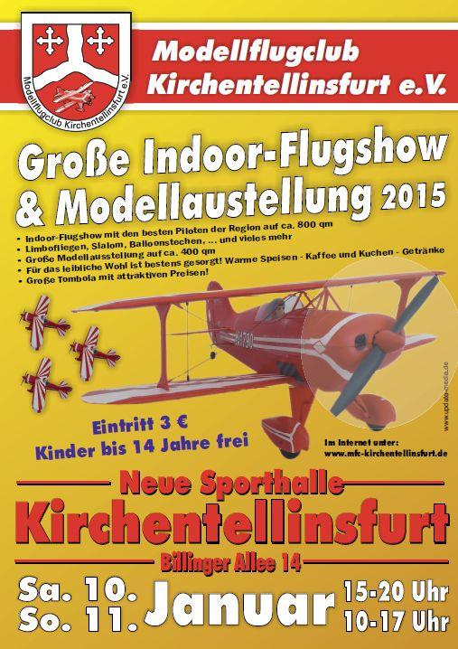 Indoor-Filugshow Modellflugclub Kirchentellinsfurt e.V.2014