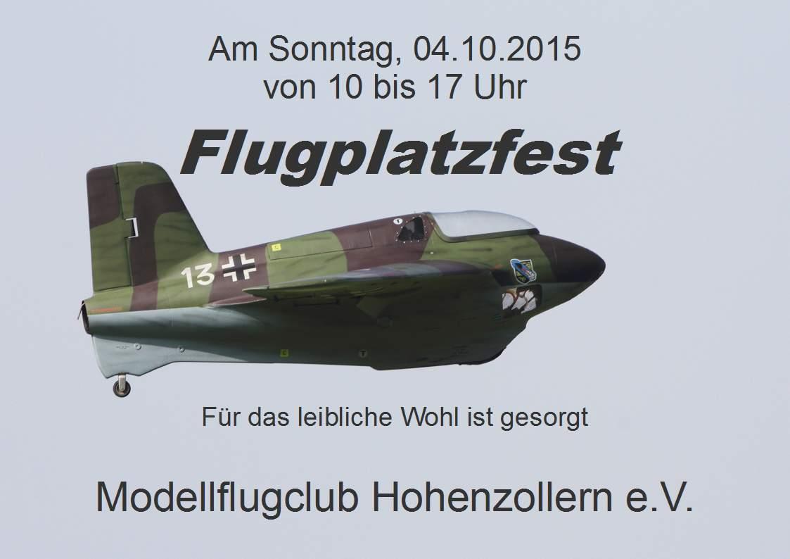 Flugplatzfest 04.10.2015