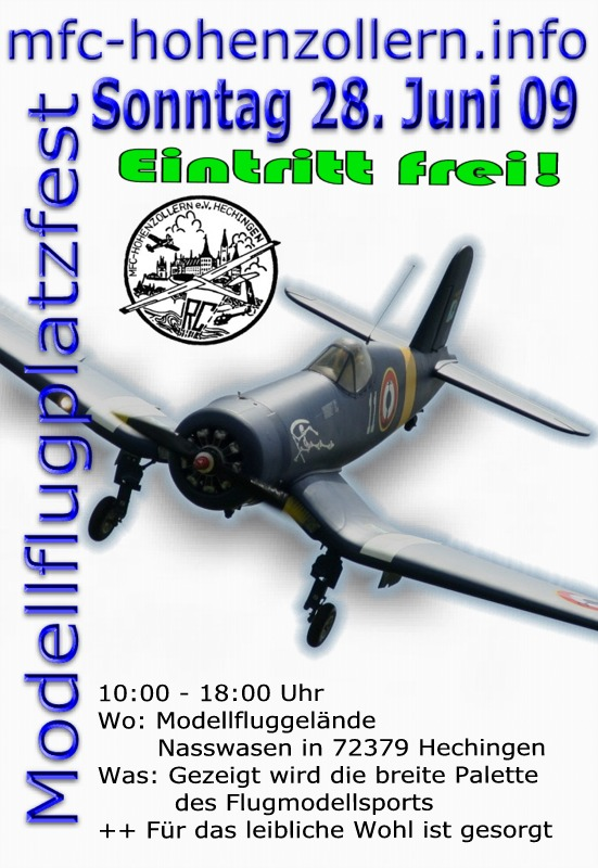 Modellflugplatzfest 2009