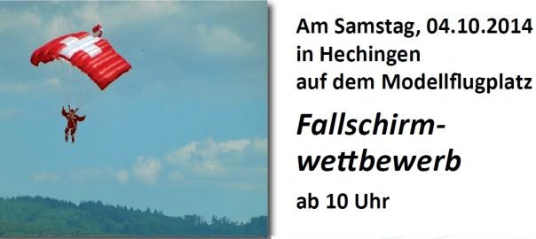 Fallschirmwettbewerb mfc-hohenzollern-2014